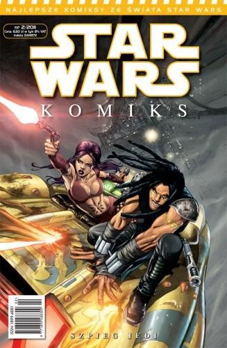 Okładka książki Star Wars Komiks 2/2011