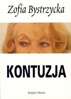 Okładka książki Kontuzja
