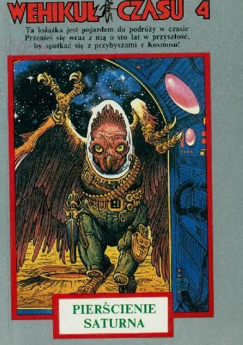 Okładka książki Wehikuł Czasu 4. Pierścienie Saturna