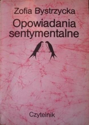 Okładka książki Opowiadania sentymentalne