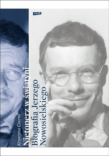 Okładka książki Nietoperz w świątyni. Biografia Jerzego Nowosielskiego