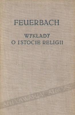 Okładka książki Wykłady o istocie religii