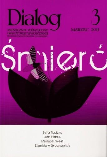 Okładka książki Dialog, nr 3 (652) / marzec 2011. Śmierć