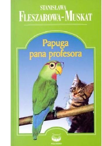 Okładka książki Papuga pana profesora