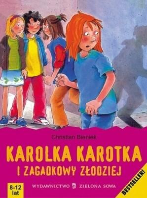 Okładka książki Karolka Karotka i zagadkowy złodziej