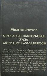 Okładka książki O poczuciu tragiczności życia wśród ludzi i wśród narodów