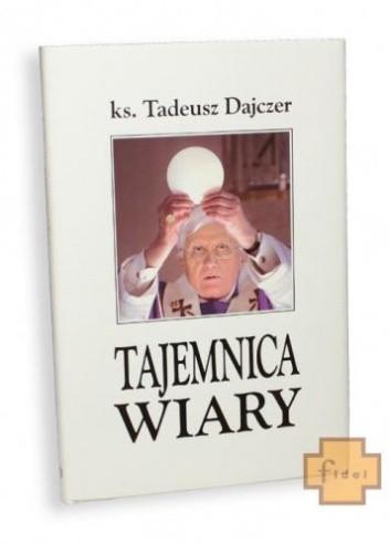 Okładka książki Tajemnica wiary
