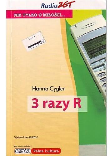Okładka książki 3 razy R