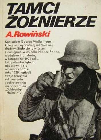 Okładka książki Tamci żołnierze