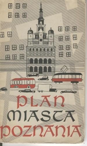 Okładka książki Plan miasta Poznania