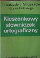 Kieszonkowy słowniczek ortograficzny