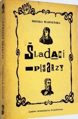 Okładka książki Śladami pisarzy