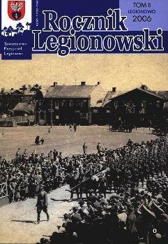 Okładka książki Rocznik Legionowski tom II