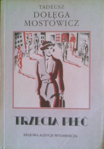 Okładka książki Trzecia płeć