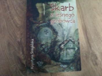 Okładka książki Skarb z leśnego grobowca