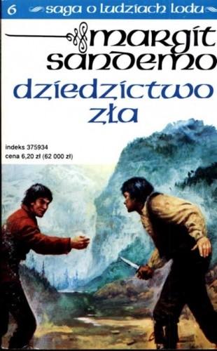 Okładka książki Dziedzictwo zła