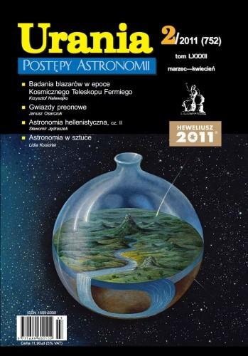 Okładka książki Urania - Postępy Astronomii 2/2011