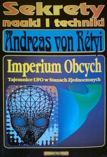 Okładka książki Imperium Obcych - Tajemnice UFO w Stanach Zjednoczonych