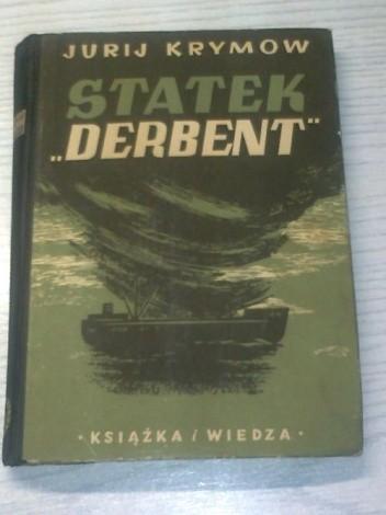 "Okładka książki Statek ""Derbent"""