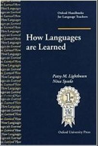 Okładka książki How languages are learned