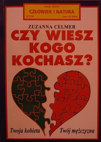 Okładka książki Czy wiesz kogo kochasz?