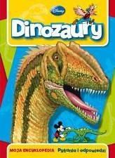 Okładka książki Dinozaury. Moja encyklopedia. Pytania i odpowiedzi.