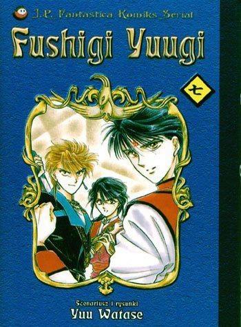 Okładka książki Fushigi Yuugi, t.7