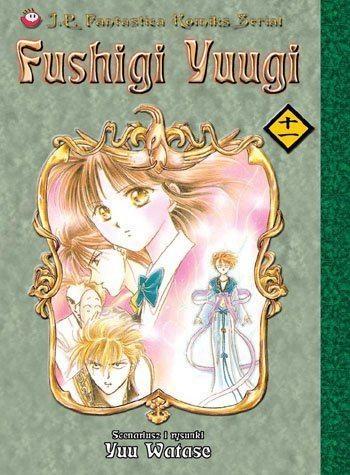 Okładka książki Fushigi Yuugi, t.11