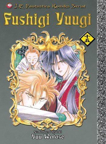 Okładka książki Fushigi Yuugi, t.15