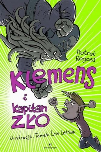 Okładka książki Klemens i Kapitan Zło