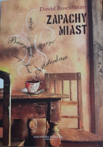 Okładka książki Zapachy miast