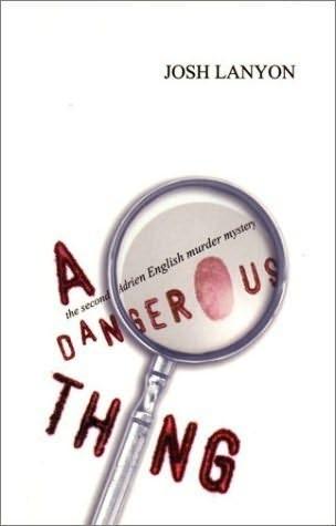 Okładka książki A Dangerous Thing
