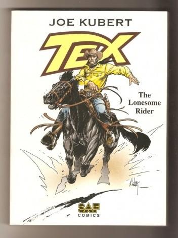 Okładka książki Tex - The Lonesome Rider