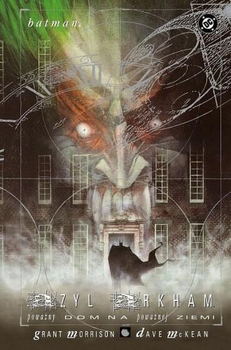 Okładka książki Batman: Azyl Arkham