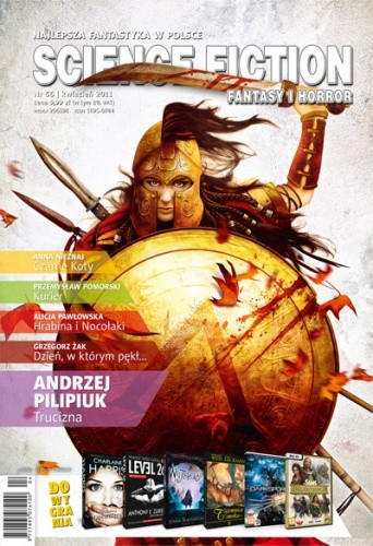 Okładka książki Science Fiction, Fantasy & Horror 66 (4/2011)