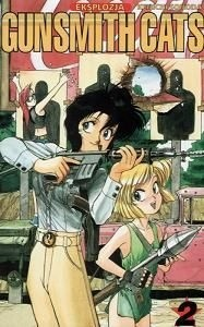Okładka książki Gunsmith Cats vol.2 - Eksplozja