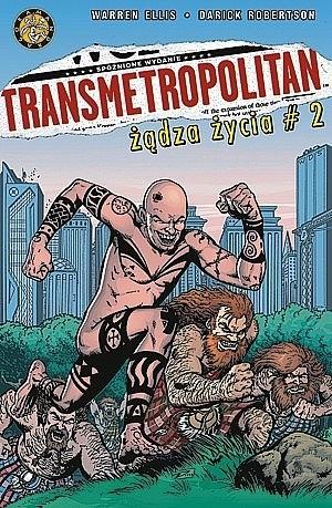Okładka książki Transmetropolitan #2: Żądza życia #2