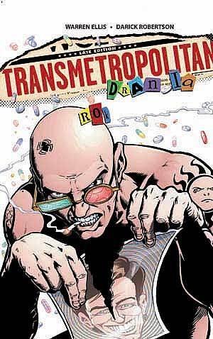 Okładka książki Transmetropolitan: 4. Rok drania