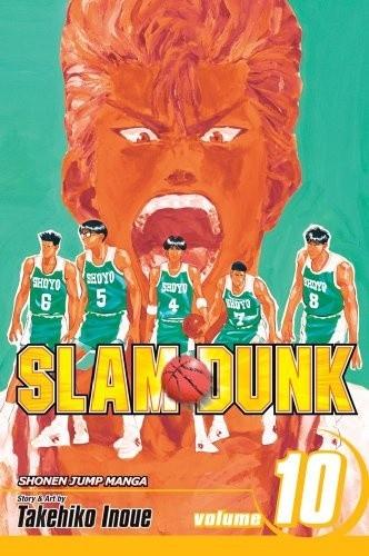 Okładka książki Slam Dunk vol. 10