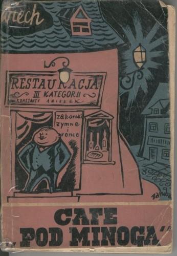 Okładka książki Cafe pod Minogą