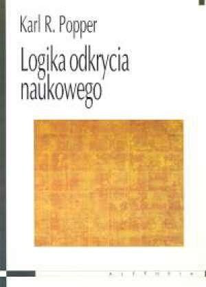 Okładka książki Logika odkrycia naukowego