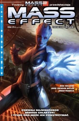 Okładka książki Mass Effect: Odkupienie.