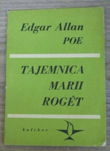 Okładka książki Tajemnica Marii Roget