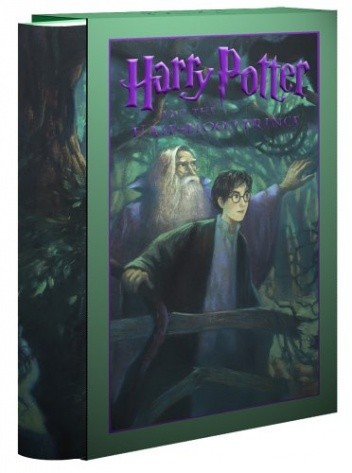 Okładka książki Harry Potter and the Half-Blood Prince (Deluxe Edition)