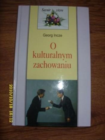 Okładka książki O kulturalnym zachowaniu