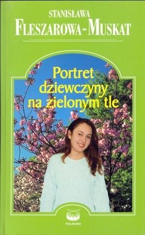 Okładka książki Portret dziewczyny na zielonym tle