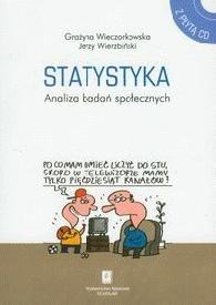 Okładka książki Statystyka Analiza badań społecznych