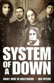 Okładka książki System of a Down: Right Here in Hollywood