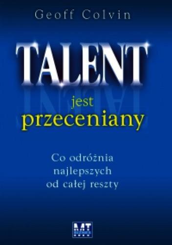 Okładka książki Talent jest przeceniany
