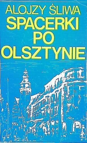 Okładka książki Spacerki po Olsztynie